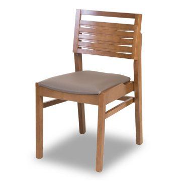 Cadeira Bangkok Encosto de Madeira - Cadeiras para Restaurantes