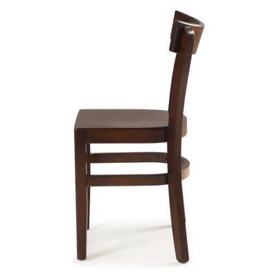 Cadeira Barcelona Assento em Madeira - Cadeiras para Restaurantes