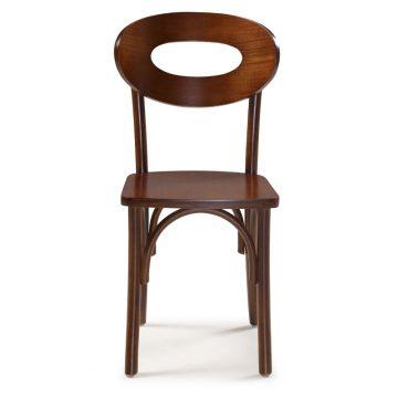 Cadeira Bariloche Assento em Madeira - Cadeiras para Restaurantes